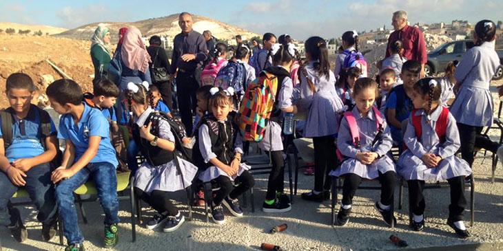 Israeli occupation terror hits EU-funded school