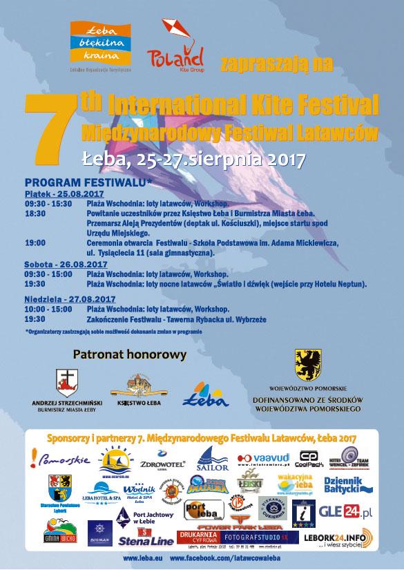 Międzynarodowy Festiwal Latawców w Łebie