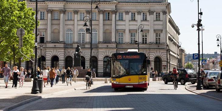 Krakowskie Przedmieście zamknięte przez miesiąc