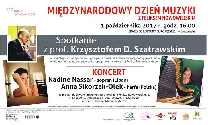Międzynarodowy Dzień Muzyki z Feliksem Nowowiejskim