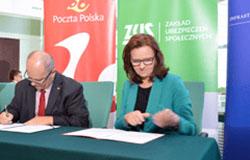 W części placówek Poczty Polskiej pojawią się dyżurne stanowiska ZUS.