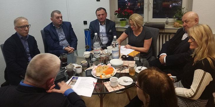 Posiedzenie Forum Izb Gospodarczych Województwa Mazowieckiego