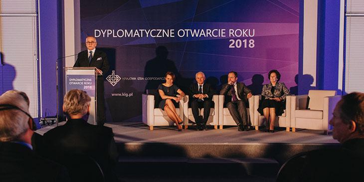 Dyplomatyczne Otwarcie Roku 2018