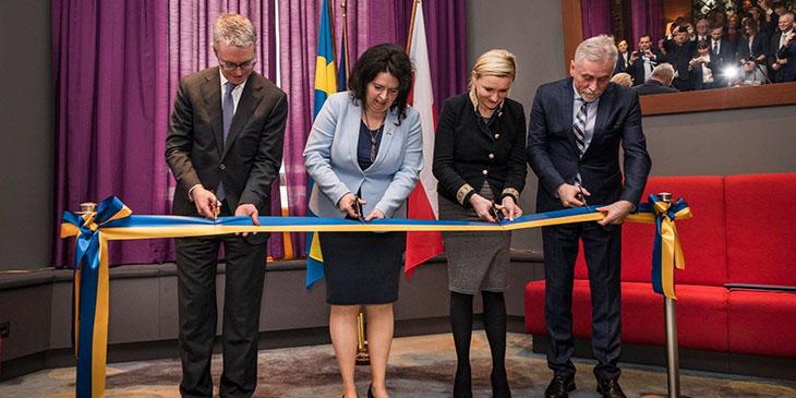 Honorowy Konsulat Szewcji w Radisson Blu Hotel Kraków