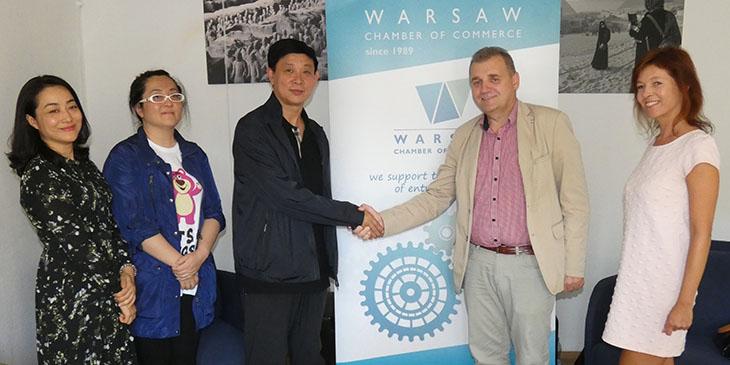 Delegacja z Heilongjiang gośćmi Warszawskiej Izby Gospodarczej