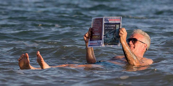 Sjesta w Morzu Martwym