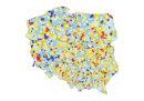 Mapa zadłużenia gmin