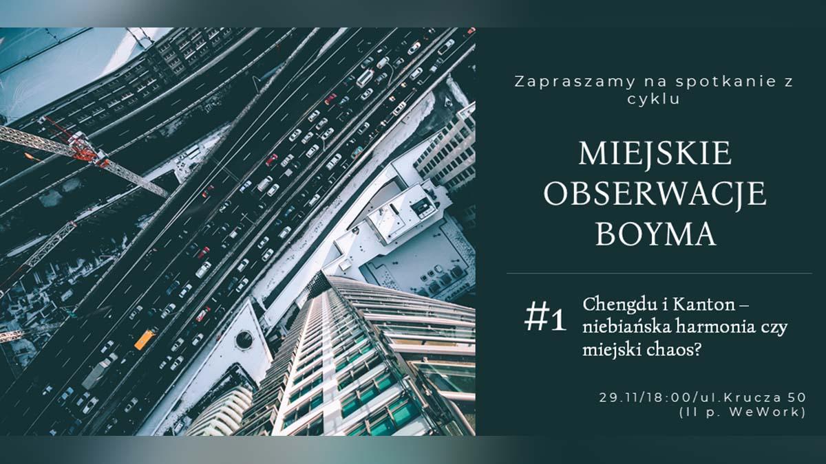 Miejskie obserwacje Boyma