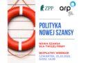 Narzędzia Polityki Nowej Szansy – zaproszenie na webinar