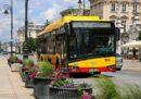 Autobus komunikacji miejskiej w Warszawie